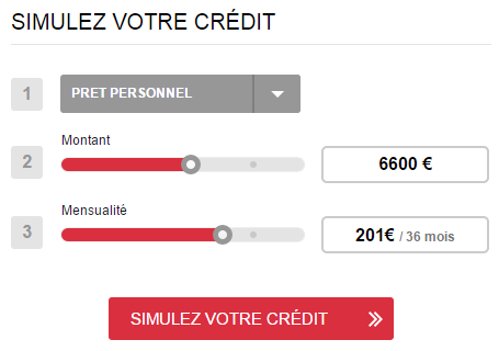simulation de prêt Franfinance