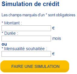 simulation prêt facet en ligne