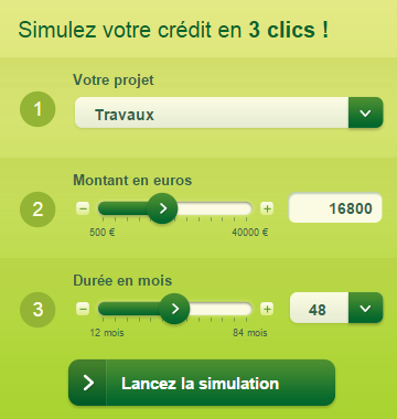 simulation pret banque casino