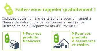 rappel téléphonique gmf