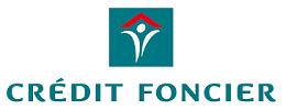 Credit foncier logo banque