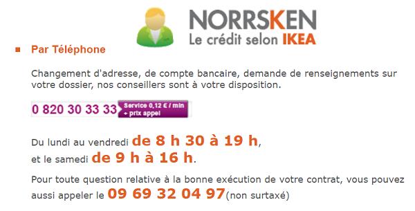 contact Norrsken Ikea