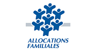 CAF Logo allocations familiales