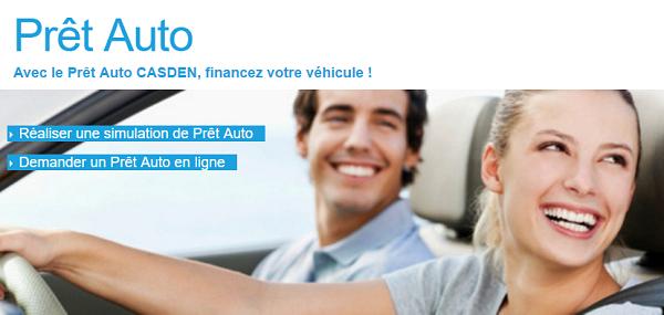 crédit auto Casden
