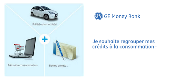 rachat de pret GE Money Bank simulation