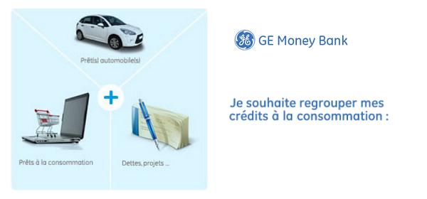 rachat de pret GE Money Bank simulation