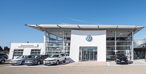prêt Volkswagen au garage
