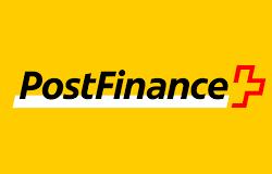 postfinance logo banque la poste suisse